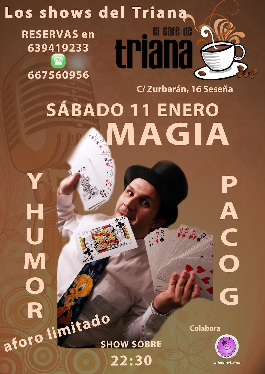 Paco G en El Café de Triana